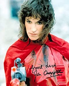 JAN CHAPPELL as Cally - Blake's 7 GENUINE AUTOGRAPH