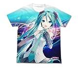 初音ミク V3 フルグラフィックTシャツ ver.2.0 ホワイト サイズ:M
