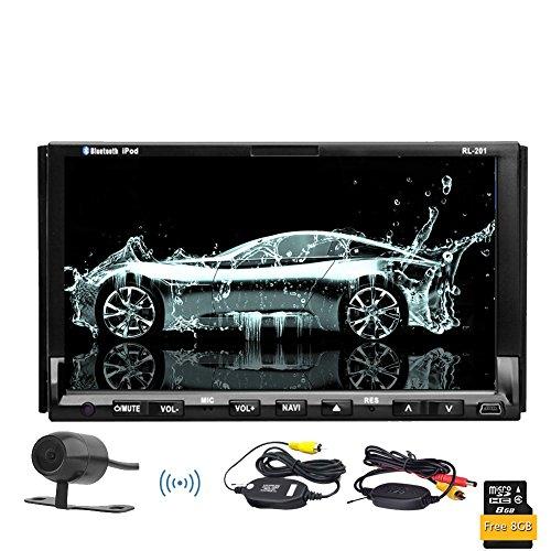 Auto Video CD DVD GPS BT SAT Audio Auto autoradio stereo della ricevente del sistema In CAM Wireless precipitare PC Doppio Din PC Audio unitš€ principale Touchscreen RDS logo EinCar supporti