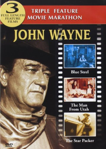 John Wayne - 3 Fulltime Length Films (Blue Steel/Man from Utah/Star Packer)