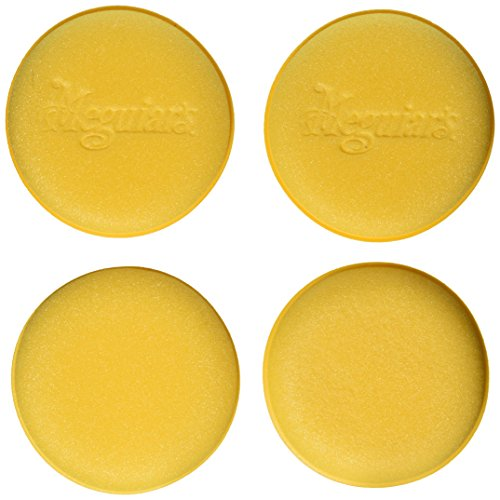 Meguiar's W0004 Foam Applicator Pad 4-1/2″, 4 per pack