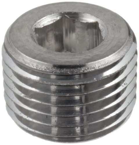 Parker stainless steel pipe fitting hollow hex plug