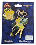 Disney Pin Accessory - Lanyard Medal and Pin Set - Tinker Bell