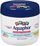 Aquaphor Baby Healing Ointment Diaper Rash and Dry Skin Protectant, 14 oz Jar