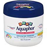 Aquaphor Baby Healing Ointment Diaper Rash and Dry Skin Protectant  Unique formula is free of fragrances, preservatives, and dyes to minimize irritation.  Aquaphor – a gentle and effective formula recommended by dermatologists, pediatricians, and pha...