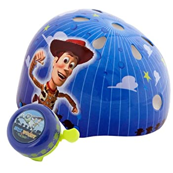 Featuring the hero of the popular Toy Story cartoons, character rides atop a comfortable micro shell design, this helmet is sure to make children love to ride safely and with the most delightful fit possible. Lifetime collision replacement warranty, ...