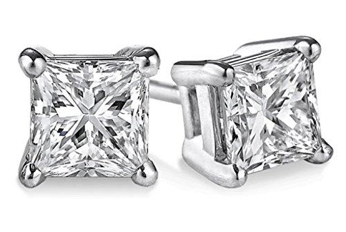 parikhs-igi-certified-070ct-up-princess-cut-diamond-stud-14k-from-004ct-to-200ct-clarity-i3