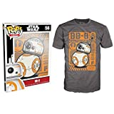 Star Wars The Force Awakens Funko POP Movie Poster BB-8 Adult T-Shirt Large