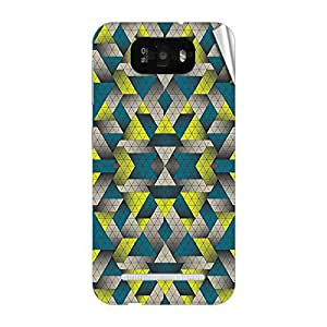 Garmor Designer Mobile Skin Sticker For Gionee V182 - Mobile Sticker