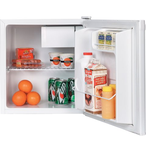 GENERAL ELECTRIC GMR02BANWW Spacemaker 1.7 Cu. Ft. Compact Refrigerator