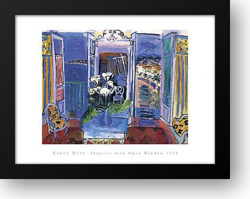 interior-with-open-window-26x22-framed-art-print-by-dufy-raoul