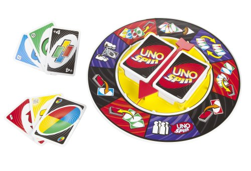 Mattel Games K2782 - Uno Spin