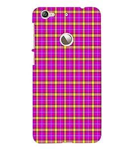 EPICCASE funky checks Mobile Back Case Cover For LeEco Le 1s Eco (Designer Case)