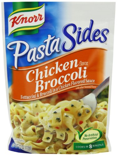 Knorr/Lipton Pasta Sides, Chicken Broccoli, 4.2-Ounce Packages (Pack of 12)