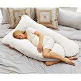 Todays Mom Cozy Comfort Pregnancy Pillow - White ~ Todays Mom