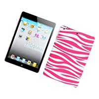 Eagle Cell PIIPADMINIR129 Stylish Hard Snap-On Protective Case for iPad mini - Retail Packaging - Pink Zebra by scthkidto
