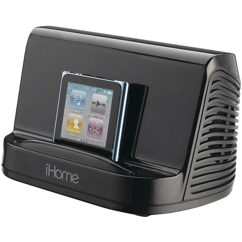 iHome iHM16B Portable Stereo Speaker System for