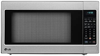 LG LCRT2010ST 2.0 Cu Ft Counter Top Microwave Oven with True Cook Plus and EZ Clean Oven, Stainless Steel