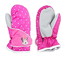 Wengift Kids Cute Mouse Series Ski Gloves