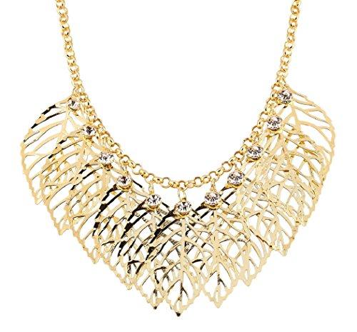 honeyjoy-bellas-ninas-multiples-un-bajo-de-hojas-rhinestone-collar