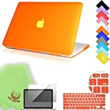 UESWILL 3in1 Smooth Soft-Touch Matte Hard Shell Case Cover for 13