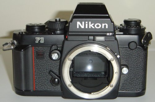 nikon f3 hp slr film camera body 35mm f3 hp high eyepoint