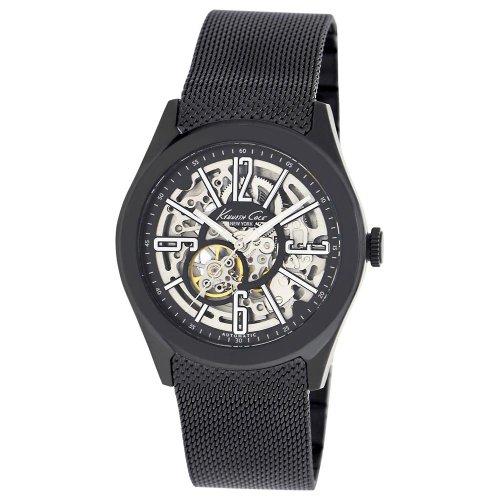 kenneth-cole-kc9352kcp-mens-new-york-skeleton-dial-black-ip-mesh-bracelet-automatic-watch
