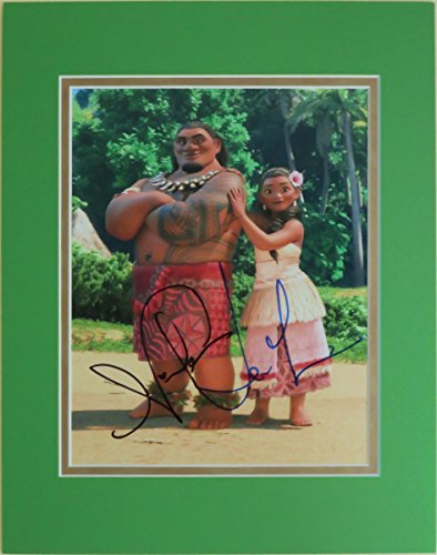 disney-autographed-matted-photo-of-chief-tui-sina-in-moana-signed-by-temuera-morrison-nicole-scherzi