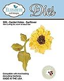 Elizabeth Craft Designs Garden Notes Steel Cutting Die, Sunflower