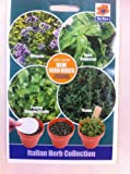 De Ree ITALIAN HERB COLLECTION VARIETY PACK- includes OREGANO/ BASIL GENOVESE/PARSLEY GIGANTE D'ITALIA/ THYME
