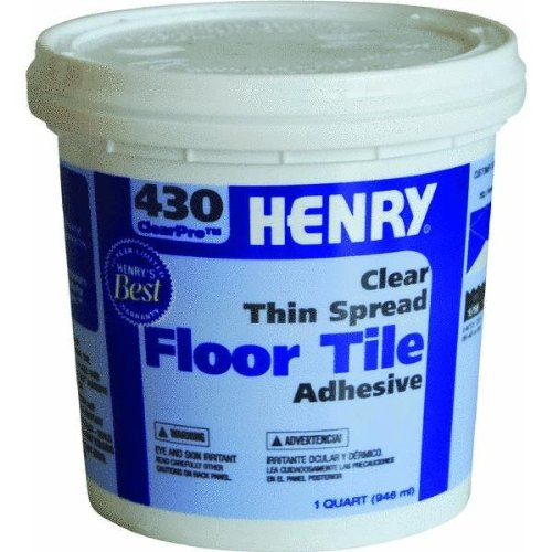 Henry, W.W. Co. FP00430030 ClearPro Clear VCT Floor Adhesive