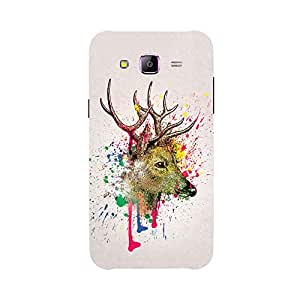 Back cover for Samsung Galaxy A5 Deer Art