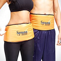 Sauna Belt Slimming Healthy Diet Fat Burner Exercise Weight Lose BY SHOPTOSHOP