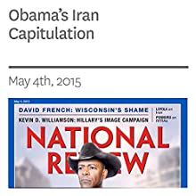 Obama's Iran Capitulation (       UNABRIDGED) by Mario Loyola Narrated by Mark Ashby