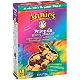 Annie's Homegrown Bunny Graham Friends (Honey, Chocolate & Chocolate Chip), 7-Ounce Boxes (Pack of 6)