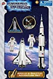 Space Toy - Apollo & Shuttle Adventure Set - Includes Astronauts, Rockets and More