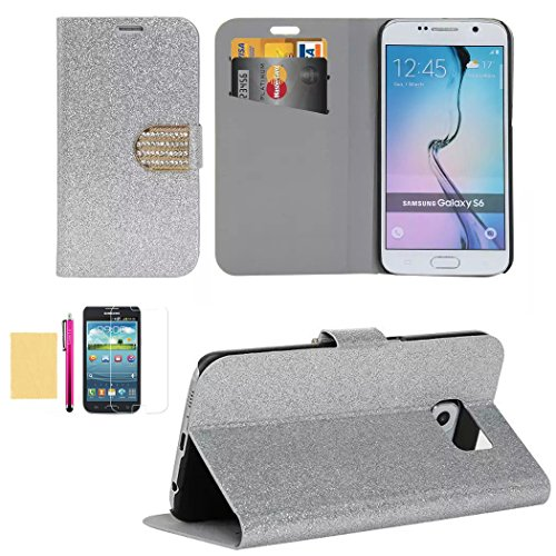 s6-case-superior-pu-leather-wallet-case-card-slots-sparkle-bling-surface-fitted-shell-stand-folding-