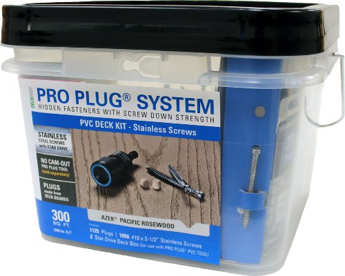How About Pro Plug PVC Plugging System for AZEK Kona Decking