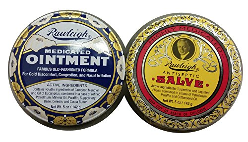 Rawleigh 2-pack of Natural Medicated Ointment