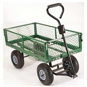 ProBache - Chariot métal PM remorque de jardin modulable