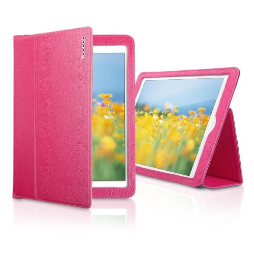 YOOBAO Executive Genuine Leather Case for Apple iPad Air/iPad 5 Tablet With Auto Wake / Sleep Function Rose