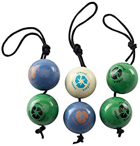 "Planet Dog Orbee-Tuff Recycle Ball 3-toys-in-1 Value Pack,  2.5"", Colors may vary"