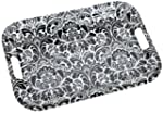 DII Damask Melamine Serving Tray