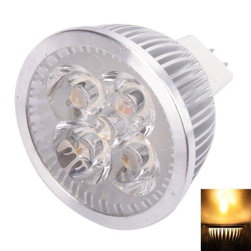 Olymstore(Tm) Mr16 4W Dc 12V Led Light Bulb Lamp Spotlight Warm White 3000K-3500K 320Lm