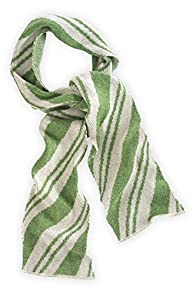 Green 3 Apparel Spearmint USA made Candy Cane Scarf (Avocado)