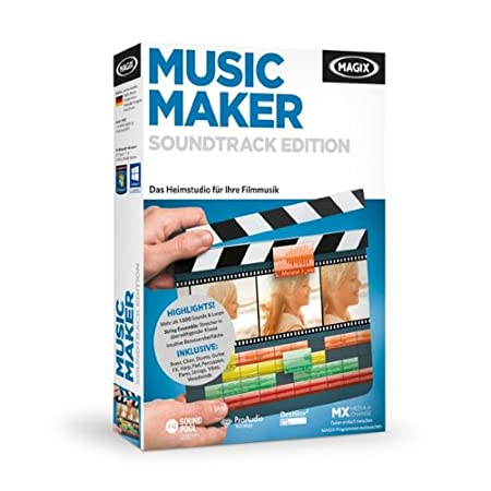 MAGIX Music Maker Soundtrack Edition