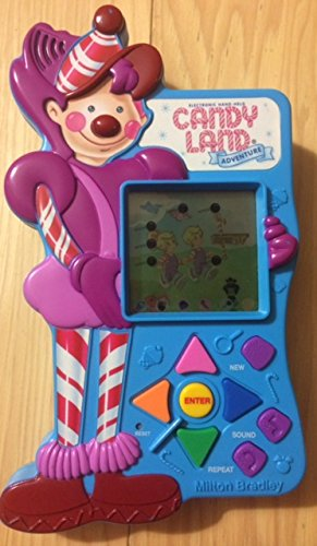 1997 Milton Bradley Company Milton Bradley Electronic Hand-Held Candy Land Adventure LCD Game #4820 - 1