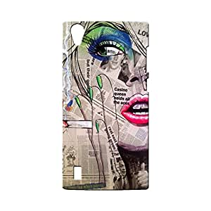 BLUEDIO Designer Printed Back case cover for VIVO Y15 / Y15S - G7412