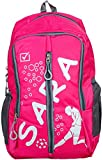 #7: Sara Polyester 25 Ltrs Pink School Bag