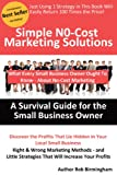 Simple No-Cost Marketing Solutions - A Survival Guide for the Small Business Owner